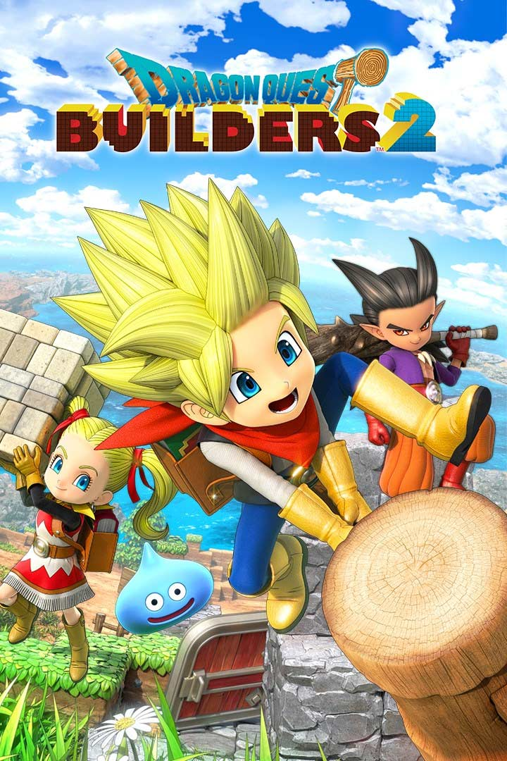 Dragon Quest Builders 2: Cover Screenshot