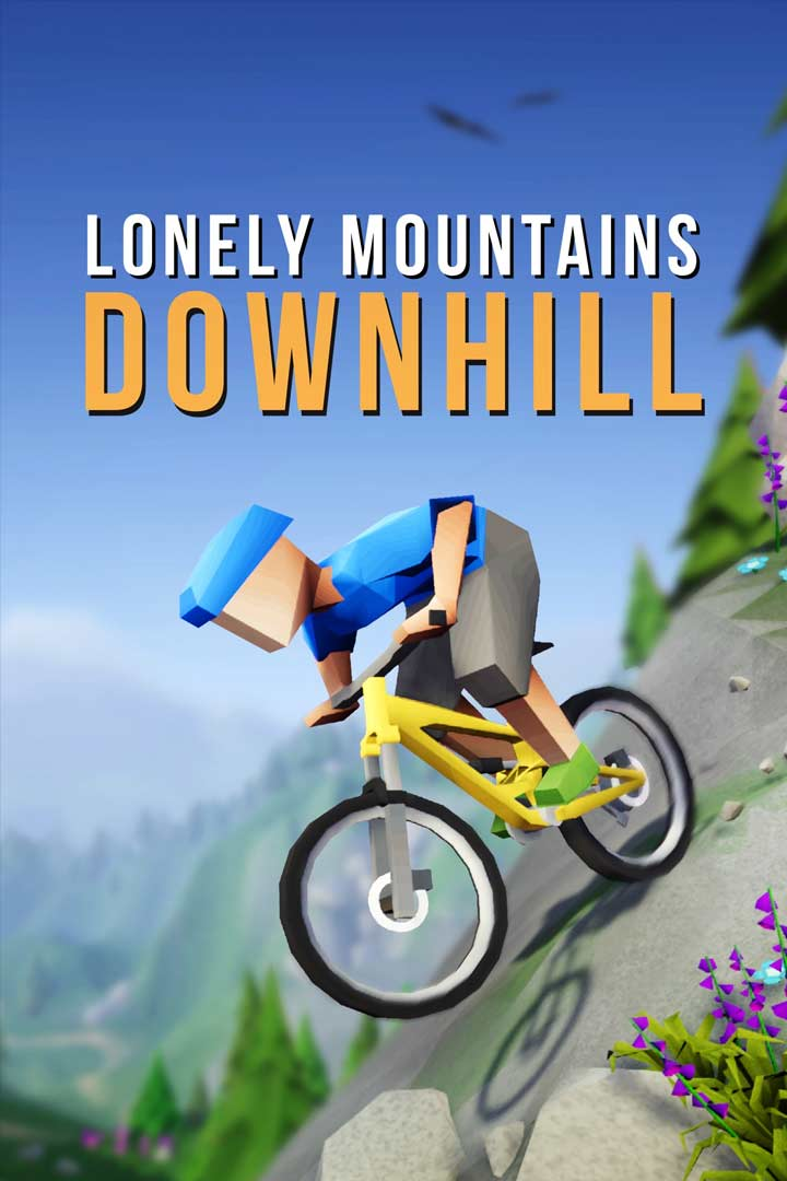 Lonely Mountains: Downhill: Cover Screenshot
