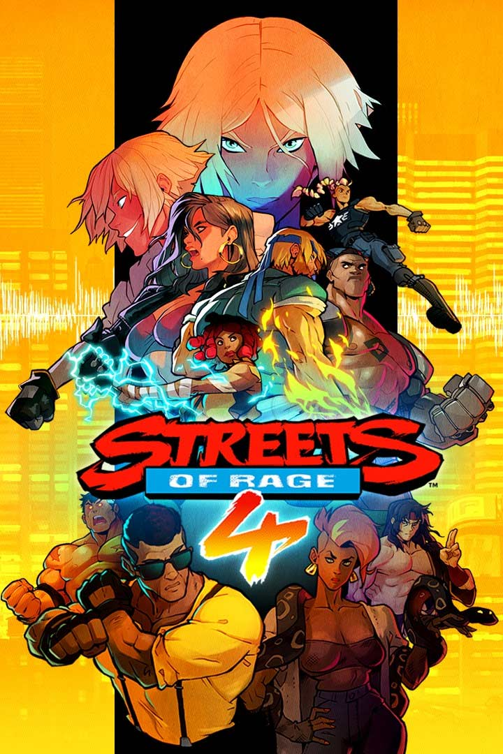 Streets of Rage 4: Cover Screenshot