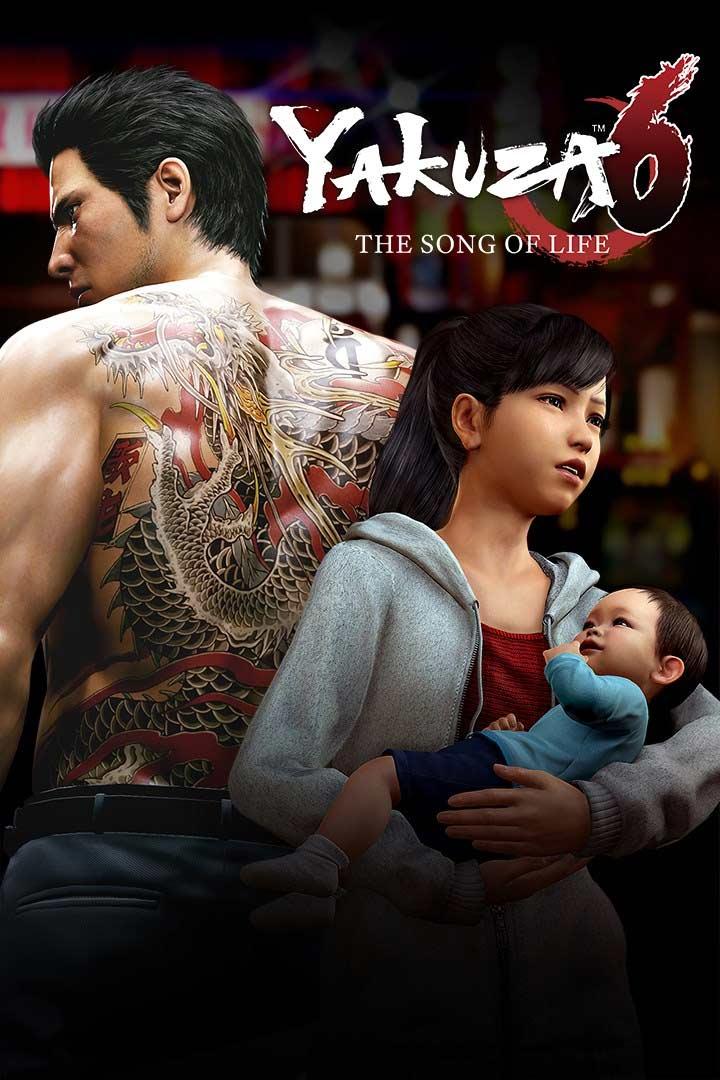 Yakuza 6: The Song of Life: Cover Screenshot