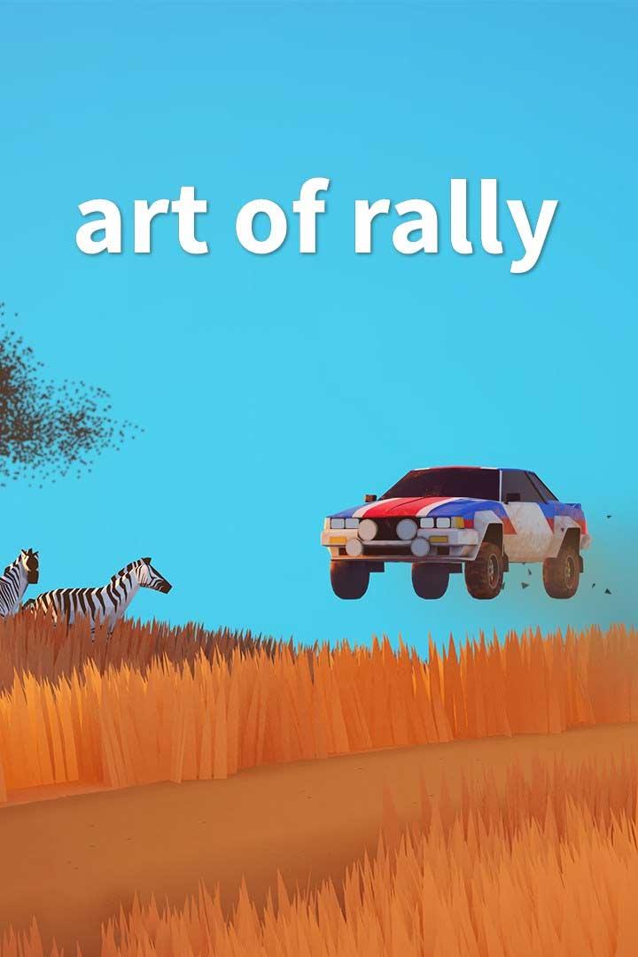 Art of Rally: Cover Screenshot