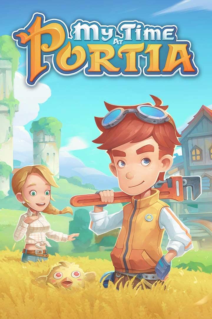 My Time at Portia: Cover Screenshot