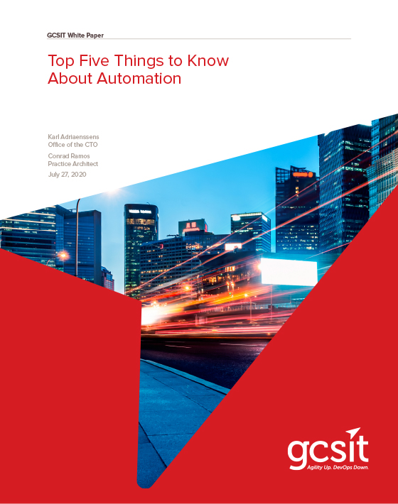 Top 5 Things to Know about Automation