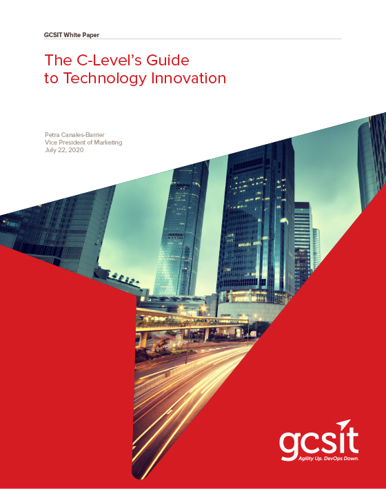 GCSIT White paper: The C Level's Guide to Technology Innovation