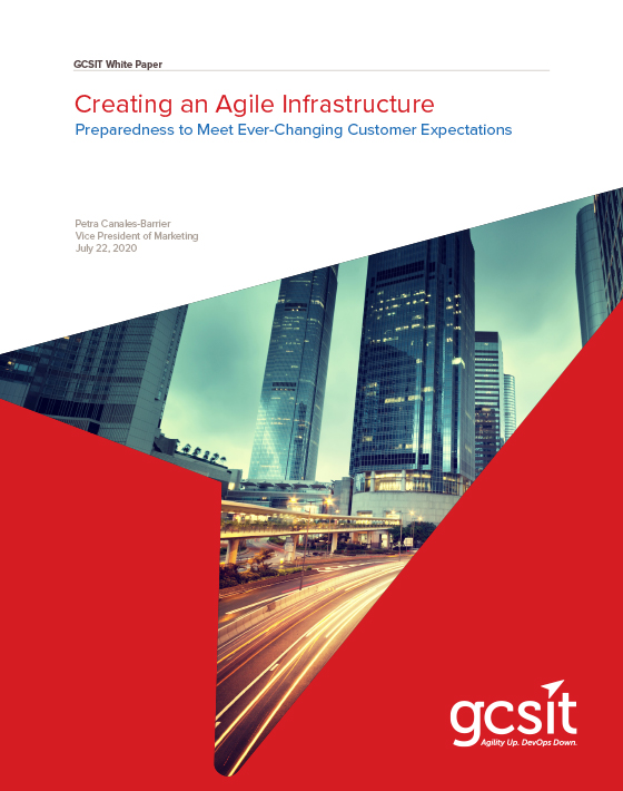 Creating an Agile Infrastructure cover