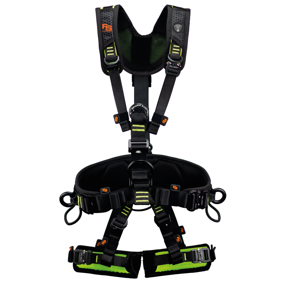 FallSafe safety harness with twICEme