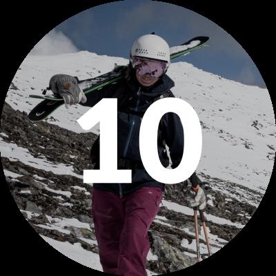 Skiing statistic twICEme