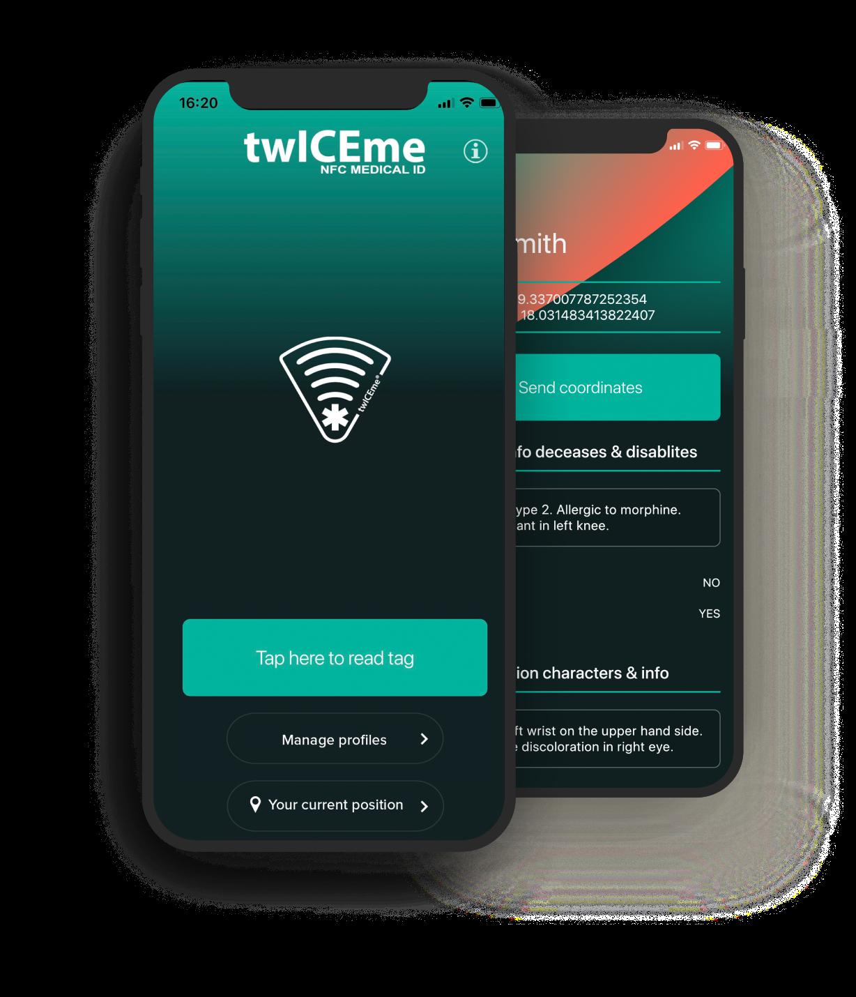 The twICEme app