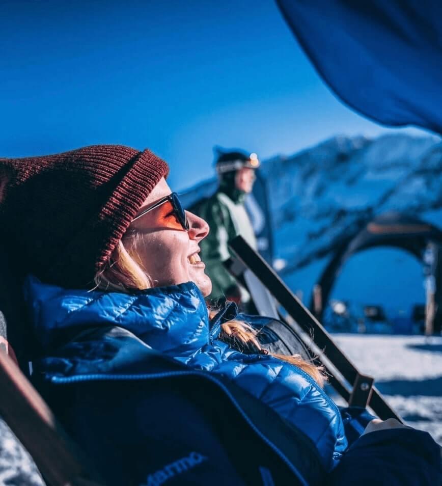 Ski guide Jule