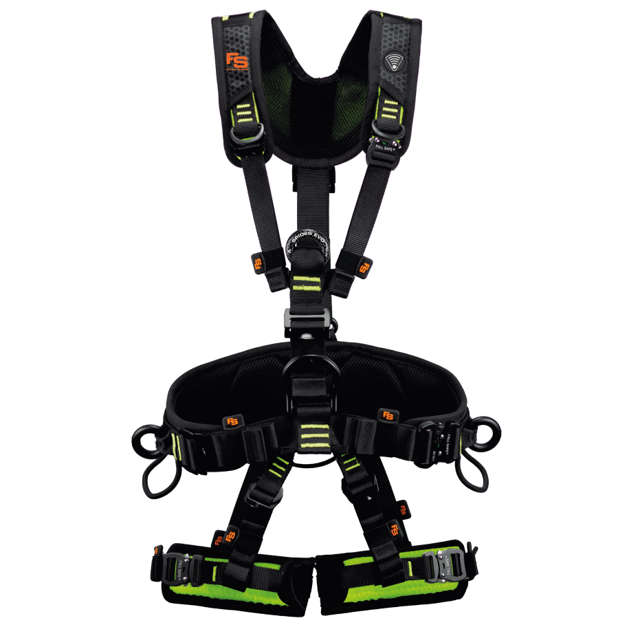 FallSafe new safety harness with twICEme integration