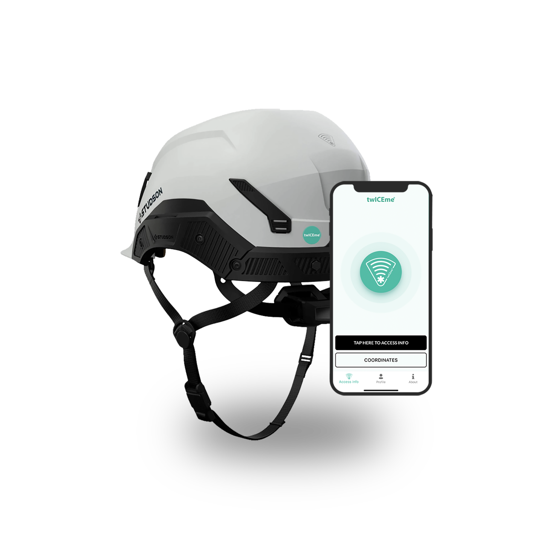twICEme enhanced equipment can be scanned with any smartphone
