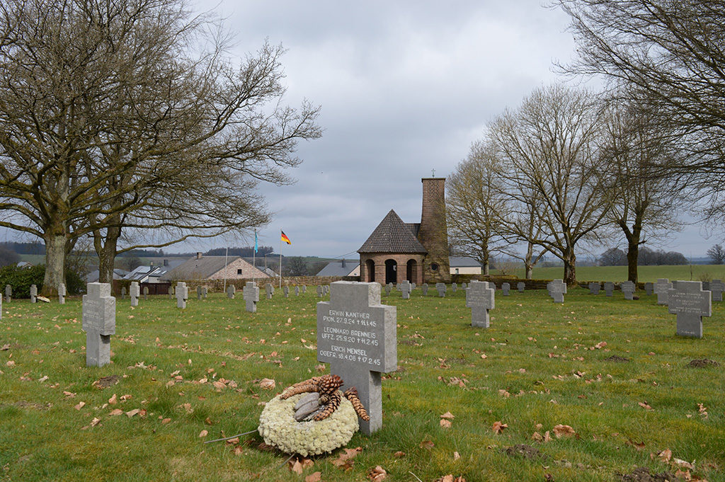 Duitse begraafplaats Recogne