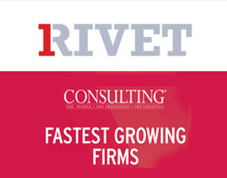 1Rivet Ranked #4 Fastest-Growing Consulting Firm