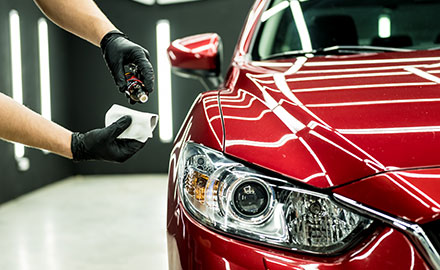 Car wash scheduling application