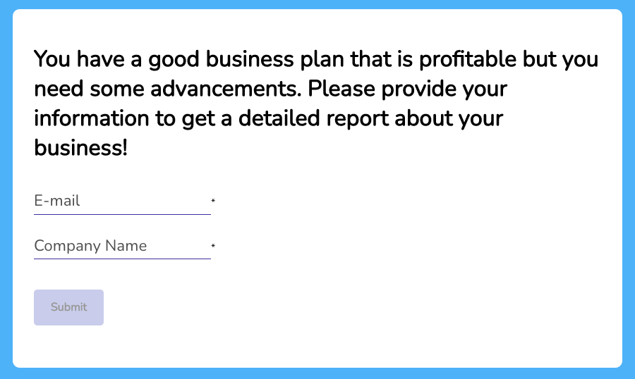 Lead Capture Opt-in Form