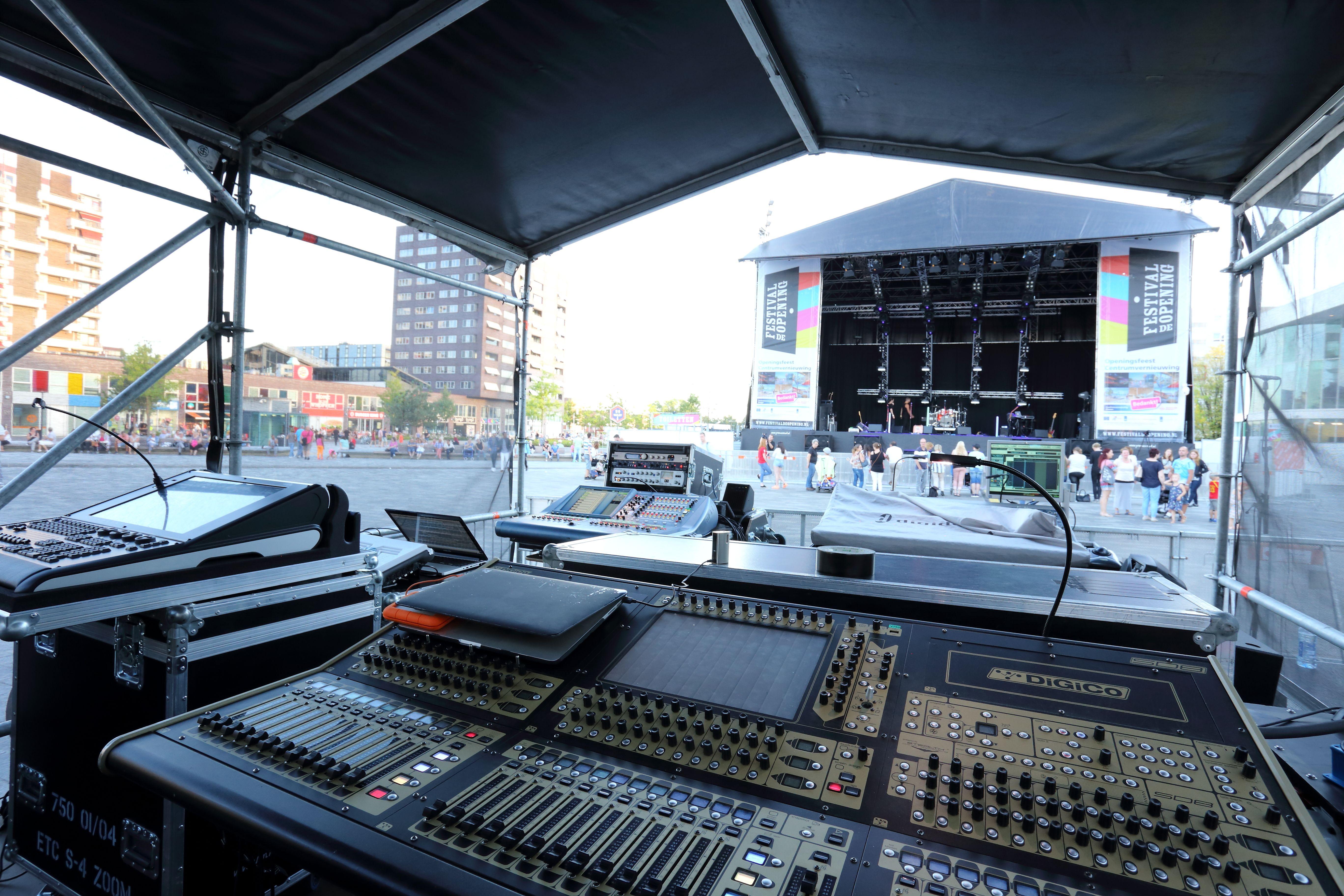 Audiovisueel specialist voor festivals en large scale events