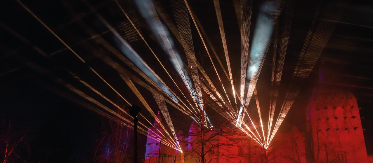 Uw audiovisuele leverancier voor lasershows op maat voor bedrijfsevenementen en openings-, onthullingsshows.