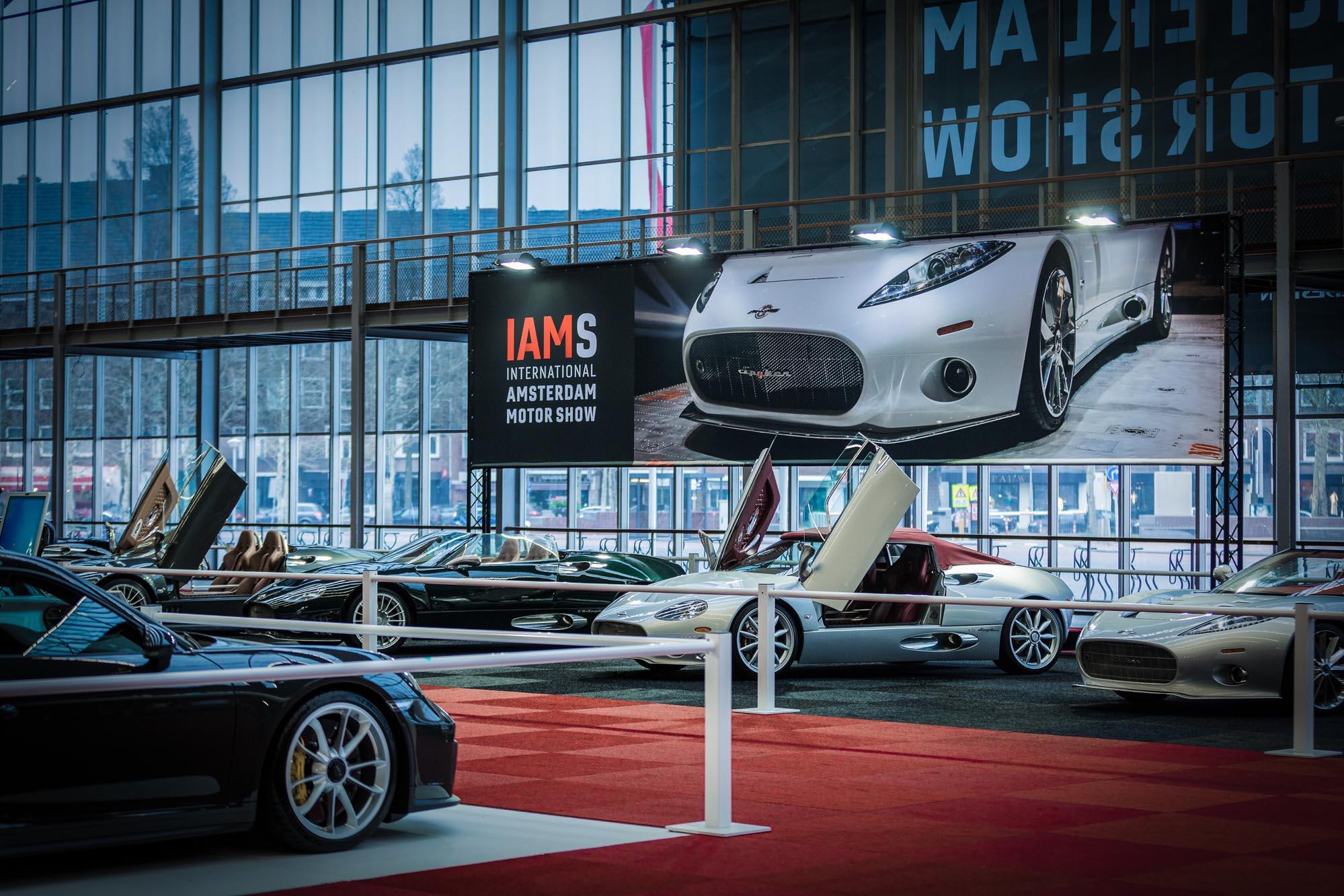IAMS, niet te missen! Een technische productie van 50.000 m2
