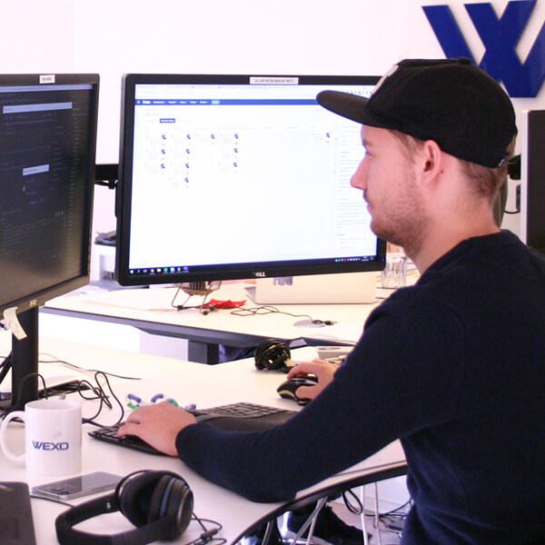 Arbejde i WEXO