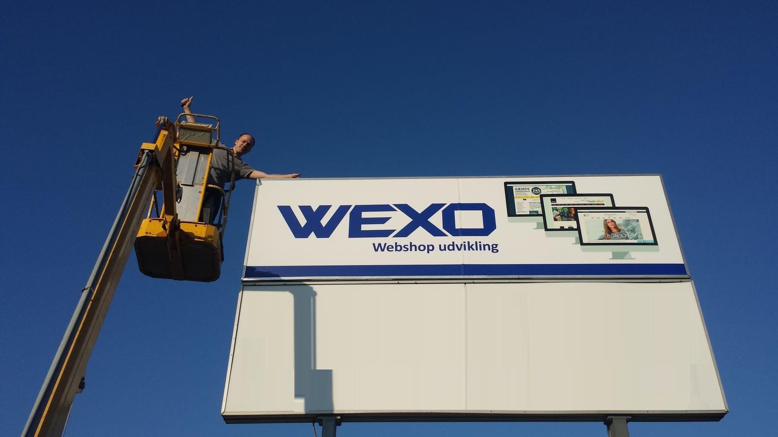 WEXO firmaarrangementer