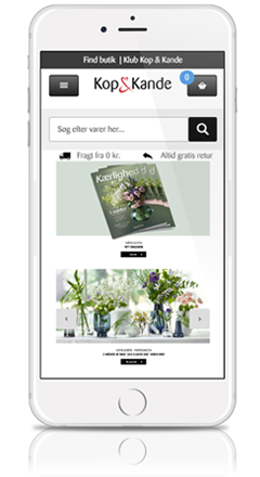 Mobil webshop - WEXO