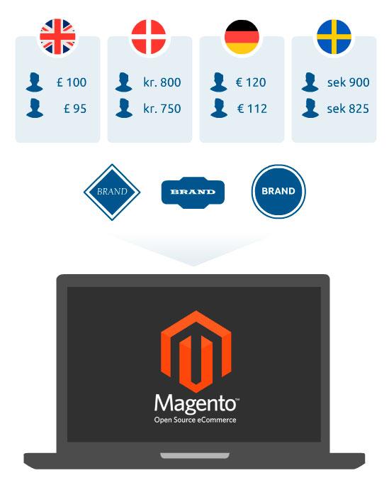 Magento B2B webshop