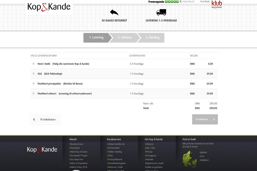 Kop & Kande Magento webshop