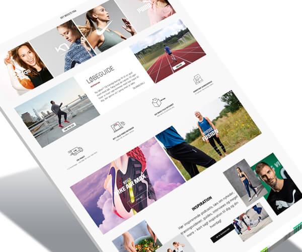 visual merchandiser Magento webshop