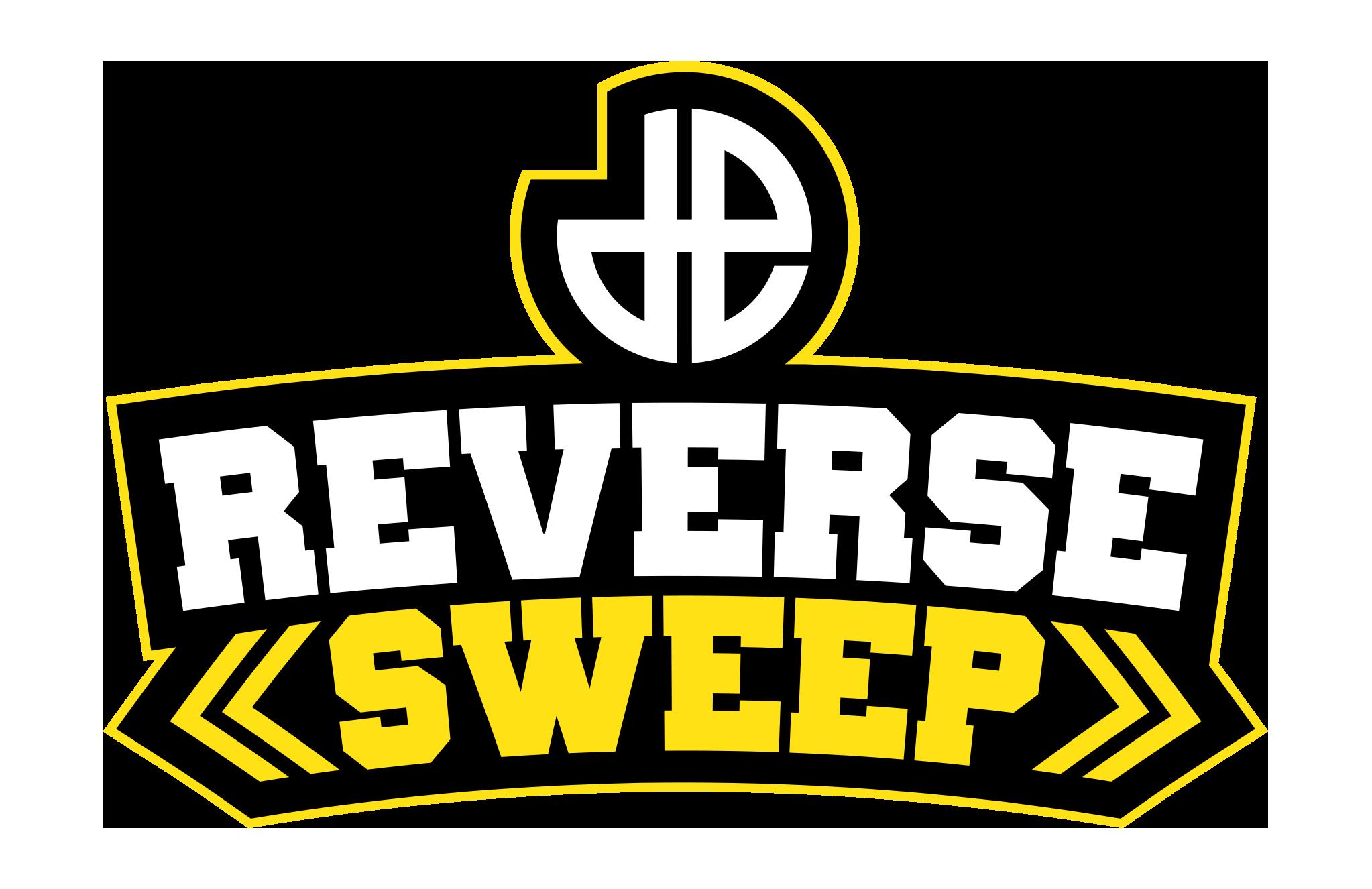 Reverse sweep logo