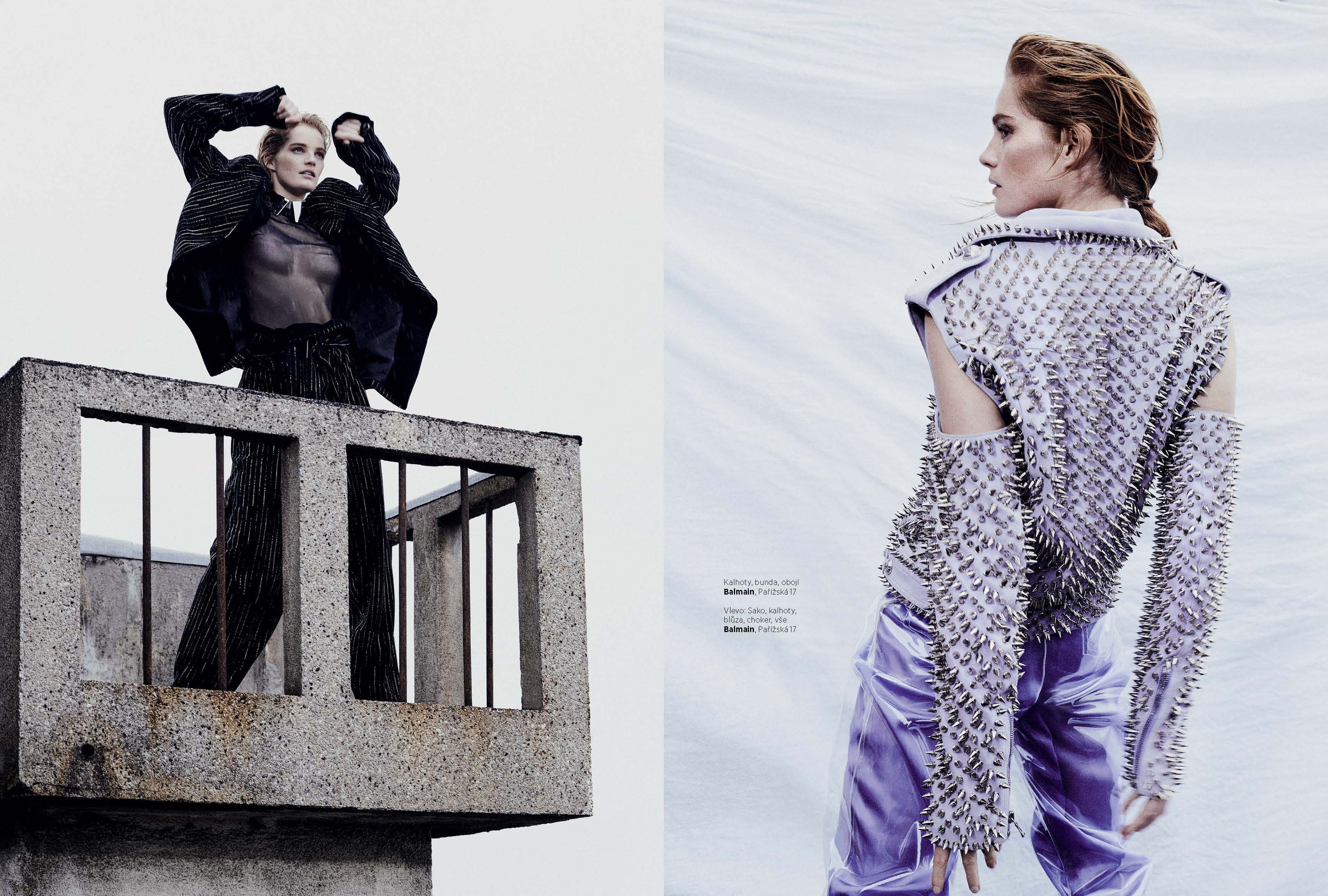 Editorial photography for Harper's Bazaar Czech by Alex Waltl