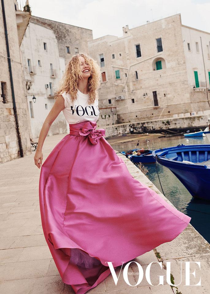 Vogue NL Puglia Editorial shoot by Alex Waltl