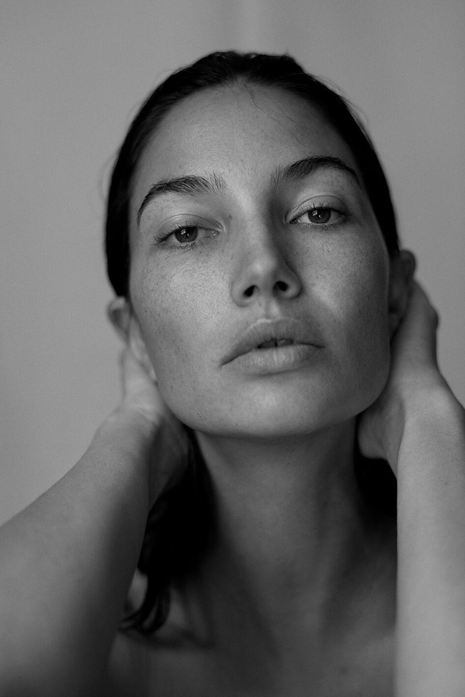 Portrait of Lily Aldridge by Alex Waltl