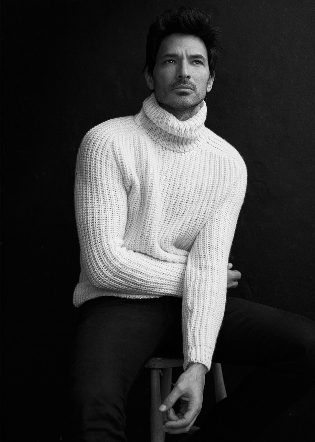 Portrait of Andres Velencoso by Alex Waltl
