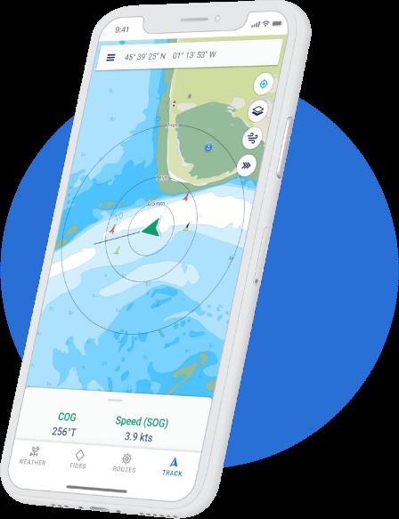 The boat navigation app - savvy navvy