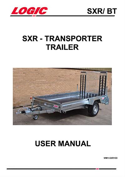 User manual for the Logic SXR Beaver tail trailer.