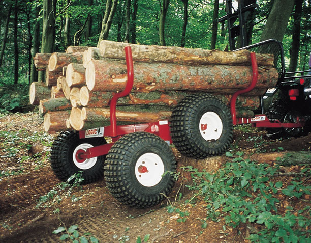 UTV ATV Timber Hauler THT400 on site