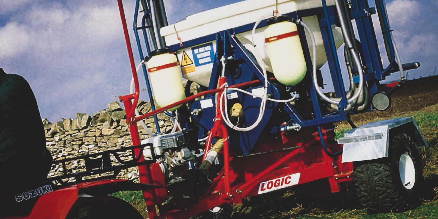 System 40 UTV ATV Sprayer S409/S410 01