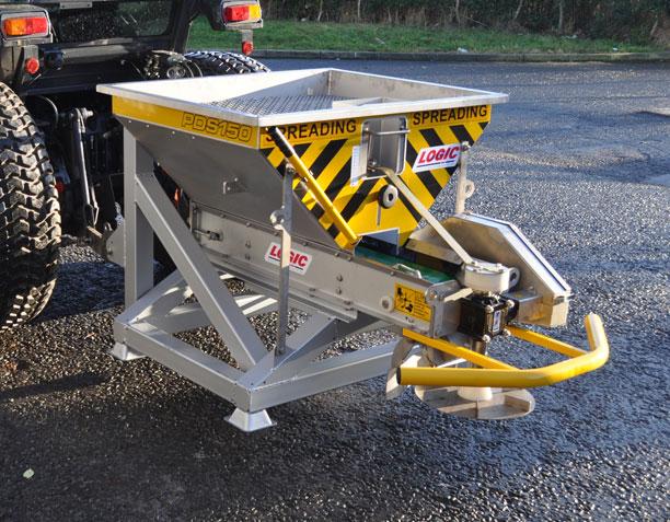 Compact Tractor Salt Spreader PDS150T 01