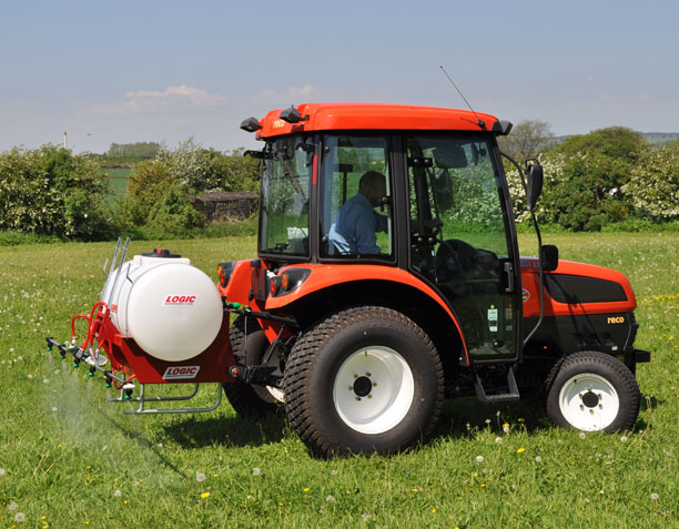 Three Point Linkage Tractor Mounted Sprayer System TPS on site 02