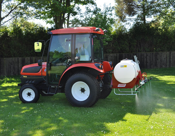 Three Point Linkage Tractor Mounted Sprayer System TPS on site 03
