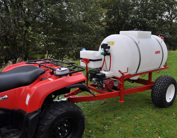 Trailed Boom-less UTV ATV Sprayer TS625