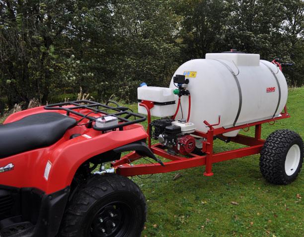 Trailed Boomless UTV ATV Sprayer TS625 (de-icer)