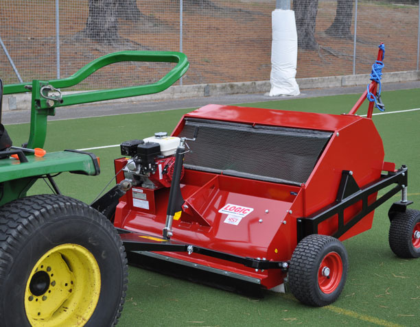 Pro Sweep MSP (Mesh Bottom) Sweeper in action 01