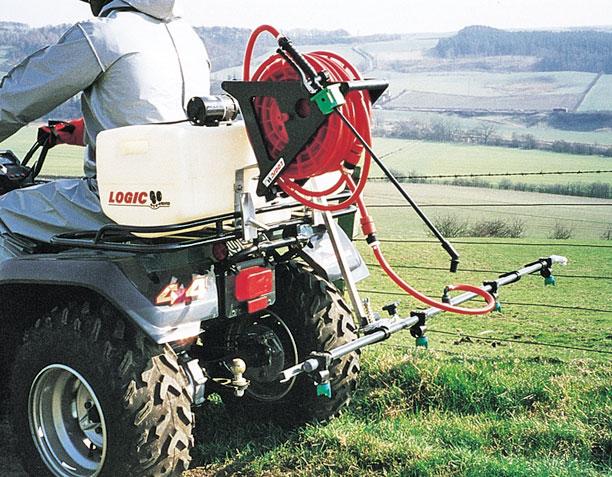 On Board Sprayer 60 litre on farm