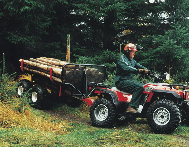 UTV ATV Timber Hauler THT400 on site 02