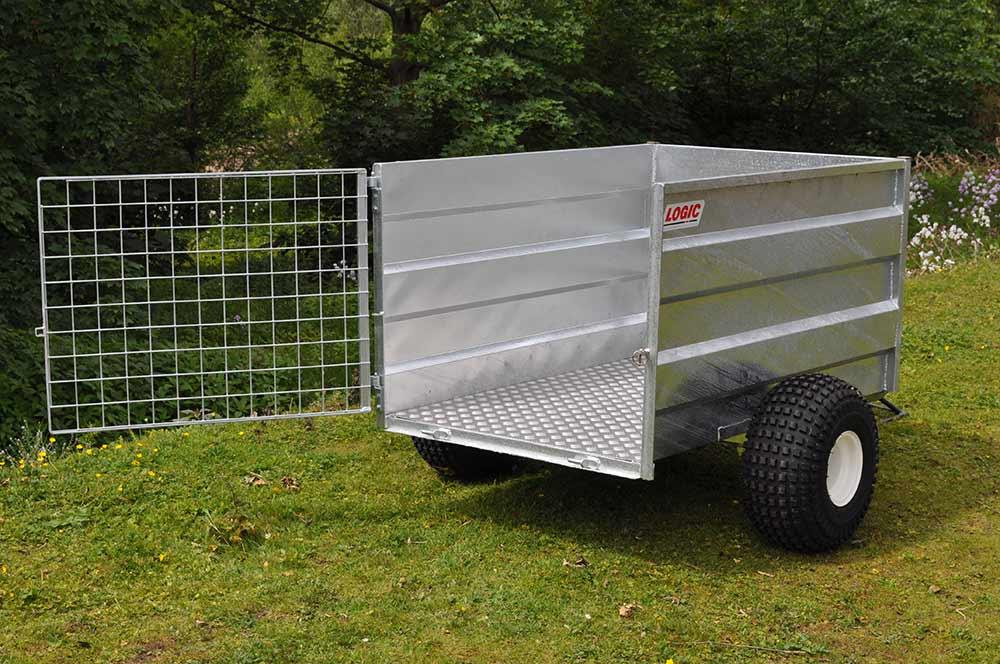 on site detail of High-Sided ATV Trailer SST 01