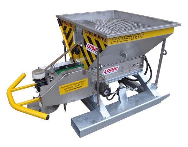 Forklift - Tele-handler - Hydraulic Salt Spreader PDS150F (Equestrian)