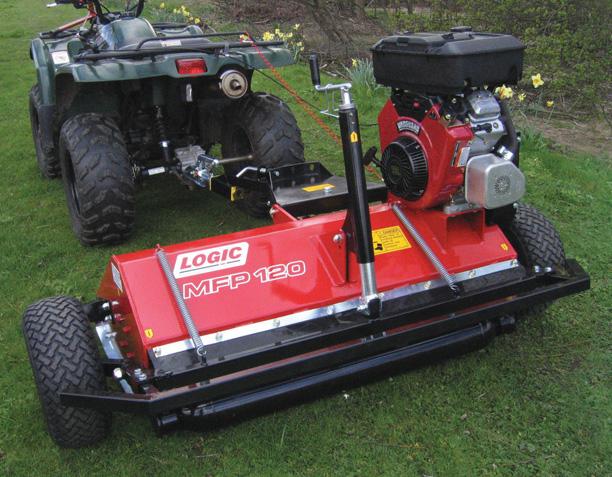 UTV ATV Flail Mower/Topper MFP (Groundcare) detail 02