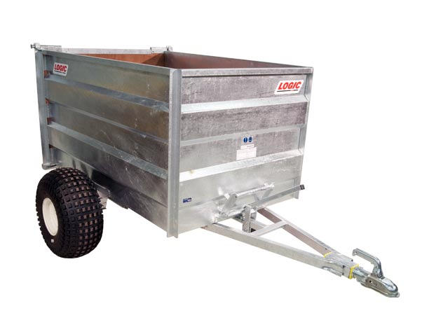 High-Sided Tipping ATV Trailer TGT400 (Winter)