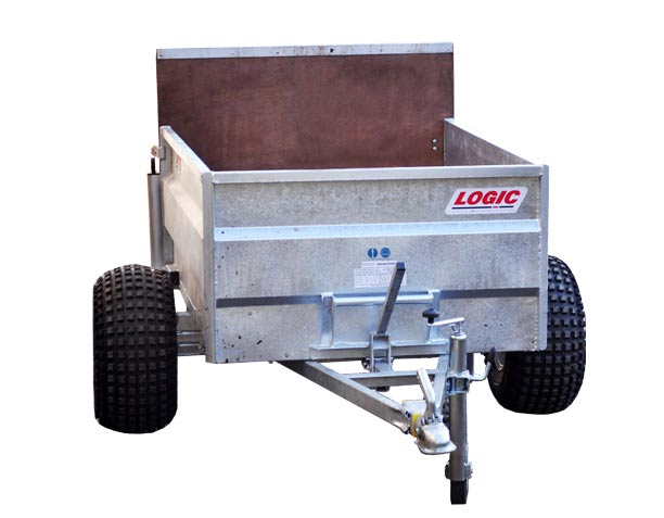 Low-Sided Tipping ATV Trailer TST400 (Winter)